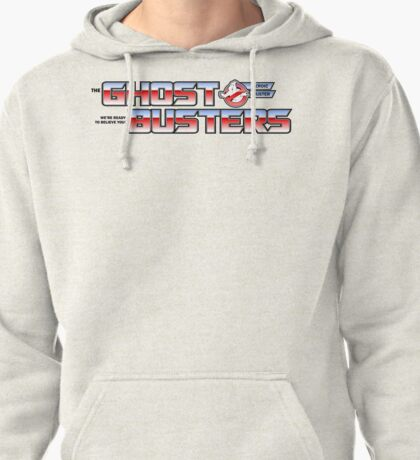 TF Ghostbusters (Ready 2 Believe) Wht Ver.3 Pullover Hoodie