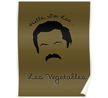 Les Vegetables. More Happiness.  Poster