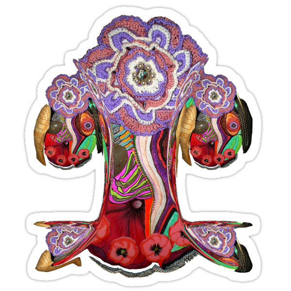 The trippy tree by StickerNuts
