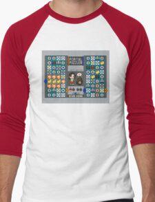Portal Puzzler Men's Baseball ¾ T-Shirt