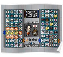Portal Puzzler Poster