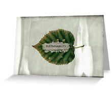 Environment Greeting Card
