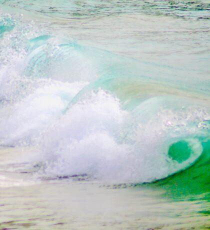 Waves Crashing The Surf Sticker