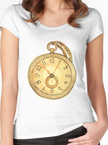 Wasting Time Women's Fitted Scoop T-Shirt