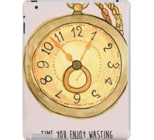 Wasting Time iPad Case/Skin