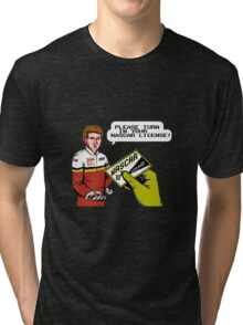 Bill Elliott Wants My NASCAR License Tri-blend T-Shirt