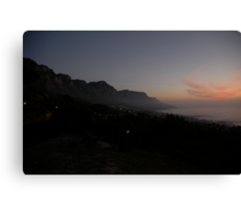 cape town... Canvas Print