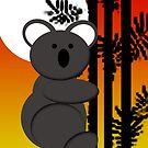 Koala Bear Sunset by jkartlife