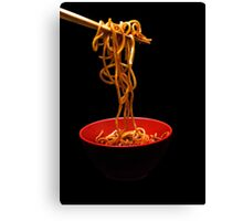 Chinese Noodles  Canvas Print