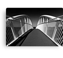 Cycle Bridge Canvas Print