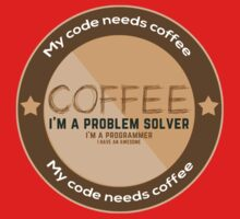 Programmer - My code needs coffee Kids Clothes