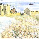 A Scottish ruin by GEORGE SANDERSON
