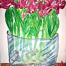 """Euphoria Tulips"" by Adela Camille Sutton"