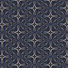 liquid geometric cross by webgrrl