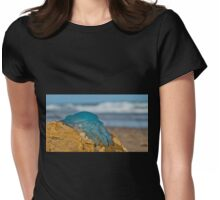 Blue Jellyfish 02 Womens Fitted T-Shirt