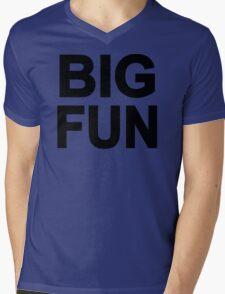 Big Fun Mens V-Neck T-Shirt