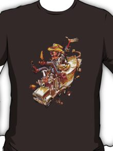 Jerry and the Bandit. Awesome mashup. T-Shirt