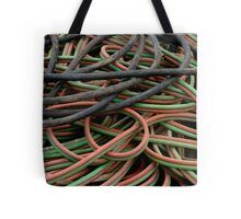 Multi colored cables Tote Bag