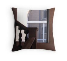 An Upstairs View... Throw Pillow