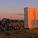 Sunrise on Cemetery Ridge by Mike Griffiths