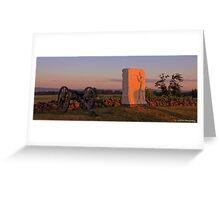 Sunrise on Cemetery Ridge Greeting Card