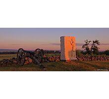 Sunrise on Cemetery Ridge Photographic Print