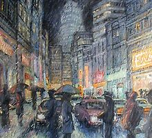 Night Rain by HDPotwin