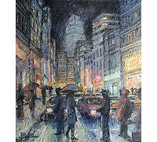 Night Rain Photographic Print