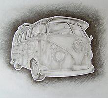 VW camper by craig smith