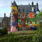Kelburn Castle Graffiti Project  by biddumy