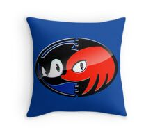 Sonic & Knuckles Throw Pillow