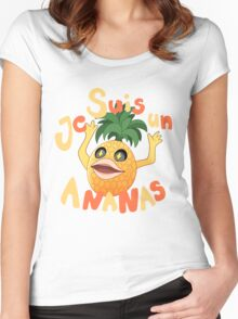 Je Suis Un Ananas Women's Fitted Scoop T-Shirt