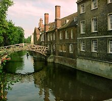 Mathematical Bridge, Queens' College, Cambridge 1993 by Priscilla Turner