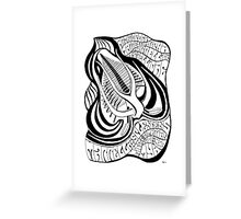 Psychedelic Marrella Greeting Card