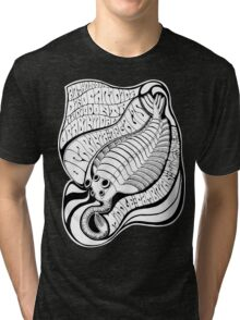 Psychedelic Opabinia Tri-blend T-Shirt