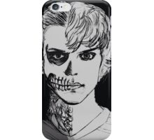 Tate - darkness - black background  iPhone Case/Skin