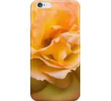 Early Summer Blooms Impressions - Elegant Peach Rose iPhone Case/Skin