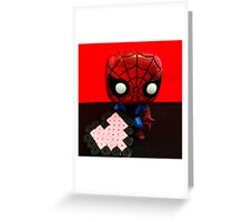 Spider-Man Valentines Greeting Card