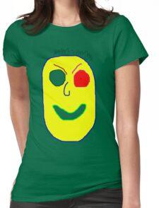 Stranger danger Womens Fitted T-Shirt