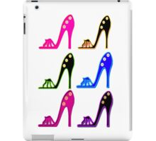 TRENDY AND CHIC SHOE GIRL DESIGN iPad Case/Skin