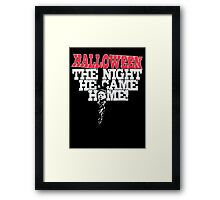 Michael Myers - Halloween Framed Print