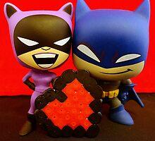 Catwoman & Batman Valentines by FendekNaughton