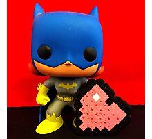 Bat Girl Valentines Photographic Print