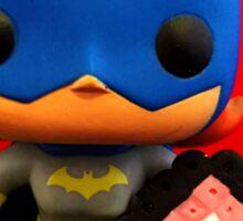 Bat Girl Valentines Sticker
