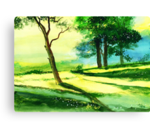 Long Horizon Canvas Print