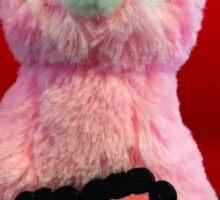 Pink Alpaca Valentines Sticker