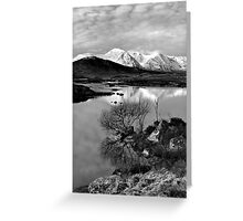 Across To The Mountains Greeting Card