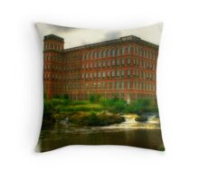 Anchor Mill Throw Pillow