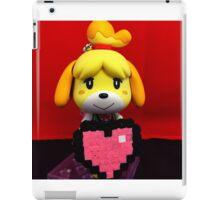 Isabelle Valetines iPad Case/Skin