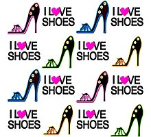 SIZZLING SHOE GIRL DESIGN Photographic Print